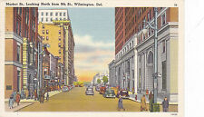WILMINGTON , Delaware, PU-1950 , Market St. Looking North from 9th Street