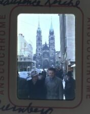 Lot of 5 1950s Nuremberg Anscochrome Slides 1955? 56? Opera Wall Covered Bridge