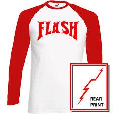 Flash Mens Fancy Dress T-Shirt Costume As Worn By Queen Freddie Mercury Gordon