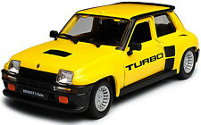 RENAULT 5 TURBO 1:24 scale diecast model car die cast toy miniature yellow