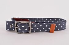 2017 NWT MENS ELEMENT ALTER BELT $28 L/XL adjustable size eclipse navy polka dot