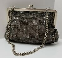 Ladies Vintage or Antique Beaded Evening Bag Clutch Art Deco Purse