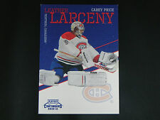 2010-11 Panini Playoff Contenders Leather Larceny #2 Carey Price Montreal