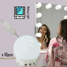 Hollywood Led Makeup Mirror Light Kit Dimmable Bulb For Makeup Dressing