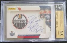 Taylor HALL Ryan NUGENT-HOPKINS Auto Card 2011-12 Panini Black Friday BGS 9.5/9