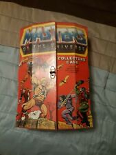 masters of the universe set 8 complete figures & collectors case