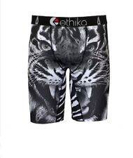 New Ethika Tiger King Print Men/Women Underwear Sports Shorts Boxer Pants Size M