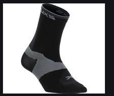 2Xu Women's Cycle Vectr Sock - Black - Small