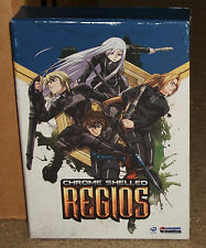 Chrome Shelled Regios Part One & Part Two DVD Limited Edition 4-Disc Box Set