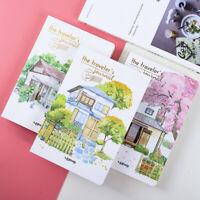 """Traveler's Journal Sketchbook"" 1pc Big Beautiful Blank Papers Notebook Notepad"