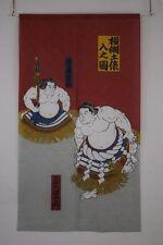 NOREN Japanese Pattern Ukiyo-e  Japanese curtain YOKOZUNA DOHYOU 横綱土俵入