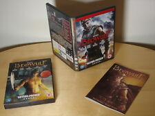 Beowulf 2DVD Directors Cut, Ray Winstone Neil Gaiman Angelina Jolie Ltd Ed Comic