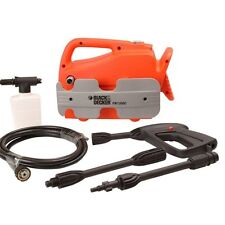 Black & Decker 110 Bar Pressure Car Washer PW1300C - Manufacturers Warranty