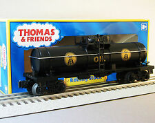 LIONEL THOMAS SODOR OIL TANKER CAR 6-30141 the tank and friends fuel 6-36155 NEW