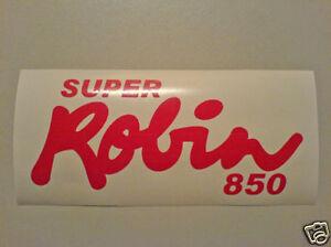 RELIANT ROBIN DECAL / STICKER