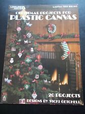 Christmas Projects For Plastic Canvas Leaflet 153 - Leisure Arts ~ 20 Projects
