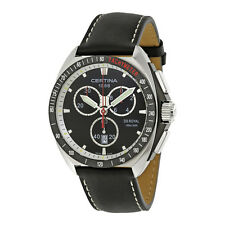 Certina DS Royal Chronograph Black Dial Mens Watch C0104171605102