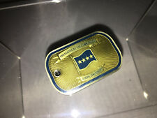 Challenge Coin North American Aerospace General Gene Renuart RARE Dog Tag