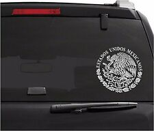 "Car Decals. Wall Decal. Laptop Decal... Aguila Escudo Logo de México  8"" W"