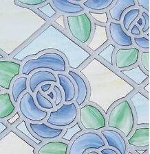 Bunte Fensterfolie Nimes Adhesive Klebefilm Bleiglas Look 0,45 x 2 m bunt