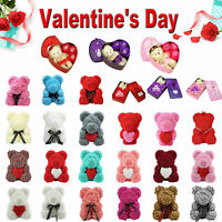 Rose Flower Cute Bear Teddy Bear Luxury Girlfriend Valentine's Day Gift Valentin