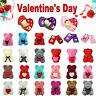 Rose Flower Cute Bear Teddy Bear Luxury Girlfriend Valentine's Day Gift Valentin