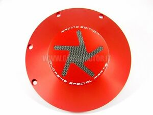 DUCABIKE CCO06A CLUTCH COVER WET ROJO