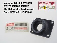 Yamaha DT100 DT175 MX100 MX125 MX175 Intake Carburetor Boot 401-13565-01 NEW