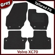 Volvo XC70 Manual Tailored Fitted Carpet Car Mats GREY (2007 2008 2009 2010 ...)