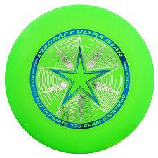 NEW Discraft ULTRA-STAR 175g Ultimate Frisbee Disc - GREEN
