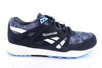 Reebok VENTILATOR AWD Classic Sneaker Halbschuhe Schnürschuhe Schuhe Blau Leder