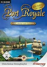 Port Royale-Gold Edition incl. Addon de Trend editorial | Game | estado bien