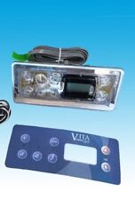 VITA SPA BY MAAX STD 7 BUTTONS W/OVERLAY