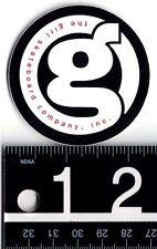 Girl Skateboards Sticker Girl Classic Og 2.25 in Round Black/Red/White Decal