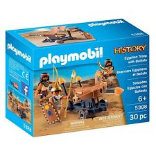 Playmobil History Egyptian Troop With Ballista Building Set 5388 NEW Toys Kids