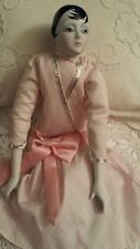 "Silvestri Dollcrafters Classics 18""Couture Flapper Porcelain Doll"