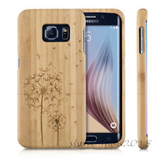 Natural Wood Bamboo Case Protect Cover for Samsung Galaxy S7/ Note 5/S8/S9+ Plus