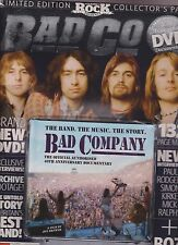 CLASSIC ROCK PRESENTS SEALED PACK OF BAD COMPANY MAGAZINE,40th ANNIVERSARY +DISC