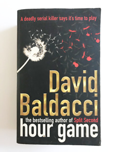 Hour Game Book Soft Cover By David Baldacci No. 1 Bestseller Fiction Mystery