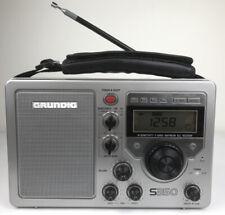 Vintage GRUNDIG S350 Shortwave AM/FM Radio 5-Band High Sensitivity~Mint Shape