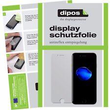 2x Apple iPhone 7 Plus Schutzfolie matt Displayschutzfolie Folie dipos