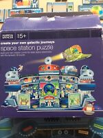 Create Your Own Galactic Space Station Puzzle 3D M&S Age 5+