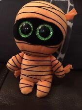 Ty Mask Halloween Orange Mummy Beanie Soft Toy