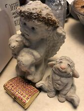Dreamsicles Cherub And Lamb