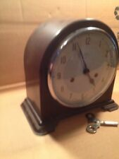 Vintage 8 Day Enfield Chime Clock X8-1/2 X 8 Inch Tall