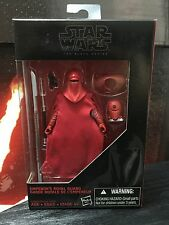 Star Wars Black Series Emperor's Guard Walmart Exclusive Rare 3.75 Inch Figure