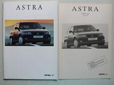 Prospekt Opel Astra GL/GLS/GSI/Caravan, 7.1995, 60 Seiten + Preisliste