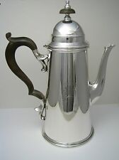 STERLING SILVER COFFEE POT STERLING HOT WATER JUG by Black Starr & Gorham c1940s