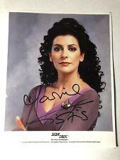 2 Marina Sirtis as Deanna Troi in Star Trek Next Generation autograph Prints