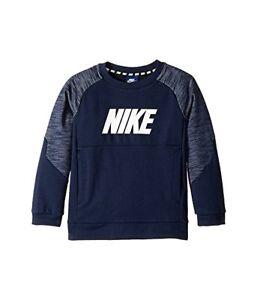 Nike Kids Sportswear Advance 15 Blue Crew Neck Sweatshirt Size XS (4) - NWT
